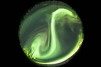 Bright Aurora Borealis Fine Art Print