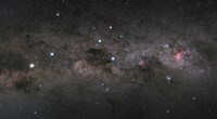 Southern Cross Pointers in the Milky Way by Philip Hart - various sizes