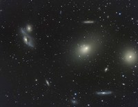 The Virgo Cluster Fine Art Print