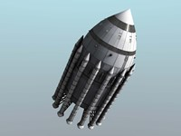 Orion-Drive Spacecraft by Rhys Taylor - various sizes