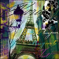 To Paris With Love I Fine Art Print