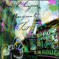 To Paris With Love II Fine Art Print