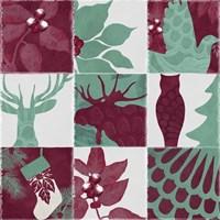 Woodland Winter V Framed Print