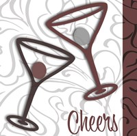 Cheers 2 Framed Print