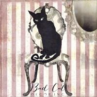 Bad Cat I Fine Art Print