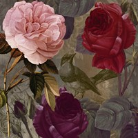 Birds and Roses II Fine Art Print