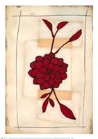 "Floral Study II by Maria Eva - 19"" x 27"""