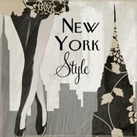 New York Style I Fine Art Print