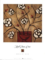 Red Vase One Fine Art Print