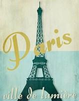 Paris City of Light Fine Art Print