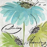 Daisy Morning II Fine Art Print