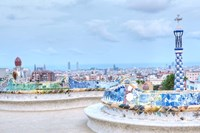 Park Guell Terrace, Barcelona, Spain by Rob Tilley - various sizes