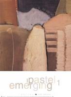 Emerging Pastel 1 Fine Art Print