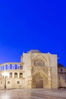 Valencia Cathedral at Dawn Valencia Spain