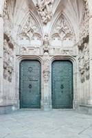 Toledo Cathedral Door Toledo Spain