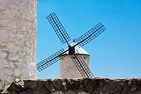Spain, Toledo Province, Consuegra La Mancha Windmills Fine Art Print