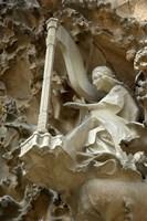 Spain, Barcelona, La Sagrada Familia Fine Art Print