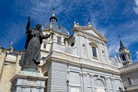 Neo-Gothic Cathedral Almudena, Madrid, Spain by Cindy Miller Hopkins - various sizes