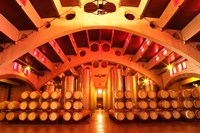 Wine Cellar at Raimat, Costers del Segre, Catalonia, Catalunya, Spain Fine Art Print