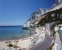 Catalan Bay, Gibraltar, Spain by Walter Bibikow - various sizes