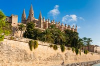 Cathedral of Santa Maria of Palma, Majorca, Balearic Islands, Spain by Nico Tondini - various sizes