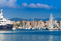 Palma de Mallorca harbor, Majorca, Balearic Islands, Spain by Nico Tondini - various sizes