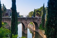 River near Passeig Mallorca, Palma, Majorca, Balearic Islands, Spain by Nico Tondini - various sizes