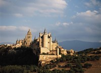 Spain, Sagovia Alcazar Castle Fine Art Print