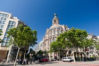 Passeig de Gracia, Barcelona, Spain by Sergio Pitamitz - various sizes