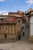 Narrow street, Anguiano, La Rioja, Spain Fine Art Print