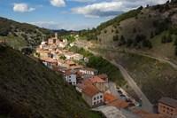 Ortigosa village, Sierra de Camero Nuevo Mountains, La Rioja, Spain Fine Art Print