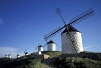 Windmills, Consuegra, La Mancha, Spain Fine Art Print