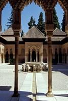 Patio de los Leones in the Alhambra, Granada, Spain by John & Lisa Merrill - various sizes, FulcrumGallery.com brand
