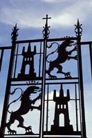 Decorative Wrought-Iron Gate of Alcazar, Cordoba, Spain Fine Art Print