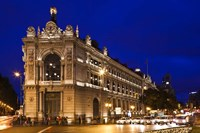 Banco de Espana, Plaza de Cibeles, Madrid, Spain by Walter Bibikow - various sizes