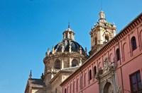 Spain, Granada Church of San Justo y Pastor Fine Art Print