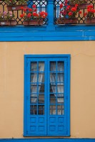Spain, Oviedo, Plaza Fontan, Building Detail by Walter Bibikow - various sizes