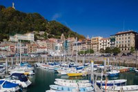 Old Town Marina, San Sebastian, Spain by Walter Bibikow - various sizes