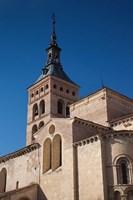 Plaza San Martin and San Martin Church, Segovia, Spain by Walter Bibikow - various sizes