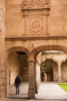 Spain, Salamanca, University of Salamanca Fine Art Print