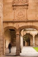 Spain, Salamanca, University of Salamanca Fine Art Print
