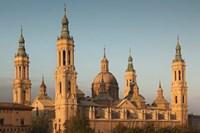Basilica de Nuestra Senora de Pilar, Zaragoza, Spain Fine Art Print