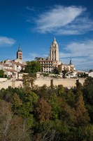 View from the Alcazar, Segovia, Spain by Walter Bibikow - various sizes