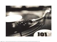 DJ Framed Print
