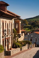 Medieval Town Buildings, Santillana del Mar, Spain by Walter Bibikow - various sizes, FulcrumGallery.com brand