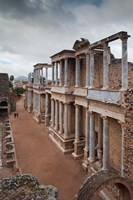 Spain Extremadura Badajoz Merida Roman Theater