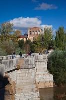 Spain Castilla y Leon, Puente de San Marcos bridge by Walter Bibikow - various sizes