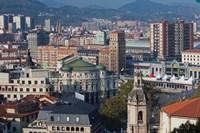 View of Parque Etxebarria Park, Bilbao, Spain by Walter Bibikow - various sizes