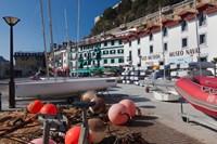 Old Town Marina, San Sebastian, Spain by Walter Bibikow - various sizes