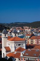 Town View, Ribadesella, Spain by Walter Bibikow - various sizes